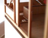 Kubus. Detail (Treppenabgang)