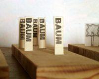 "Baummodell ""Typografie"""