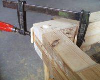 Im Bau (2) - Ecken versteifen