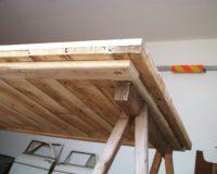 Im Bau (4) - Tischplatte: Unterbau