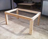 Im Bau (7) - Gestell und Platte